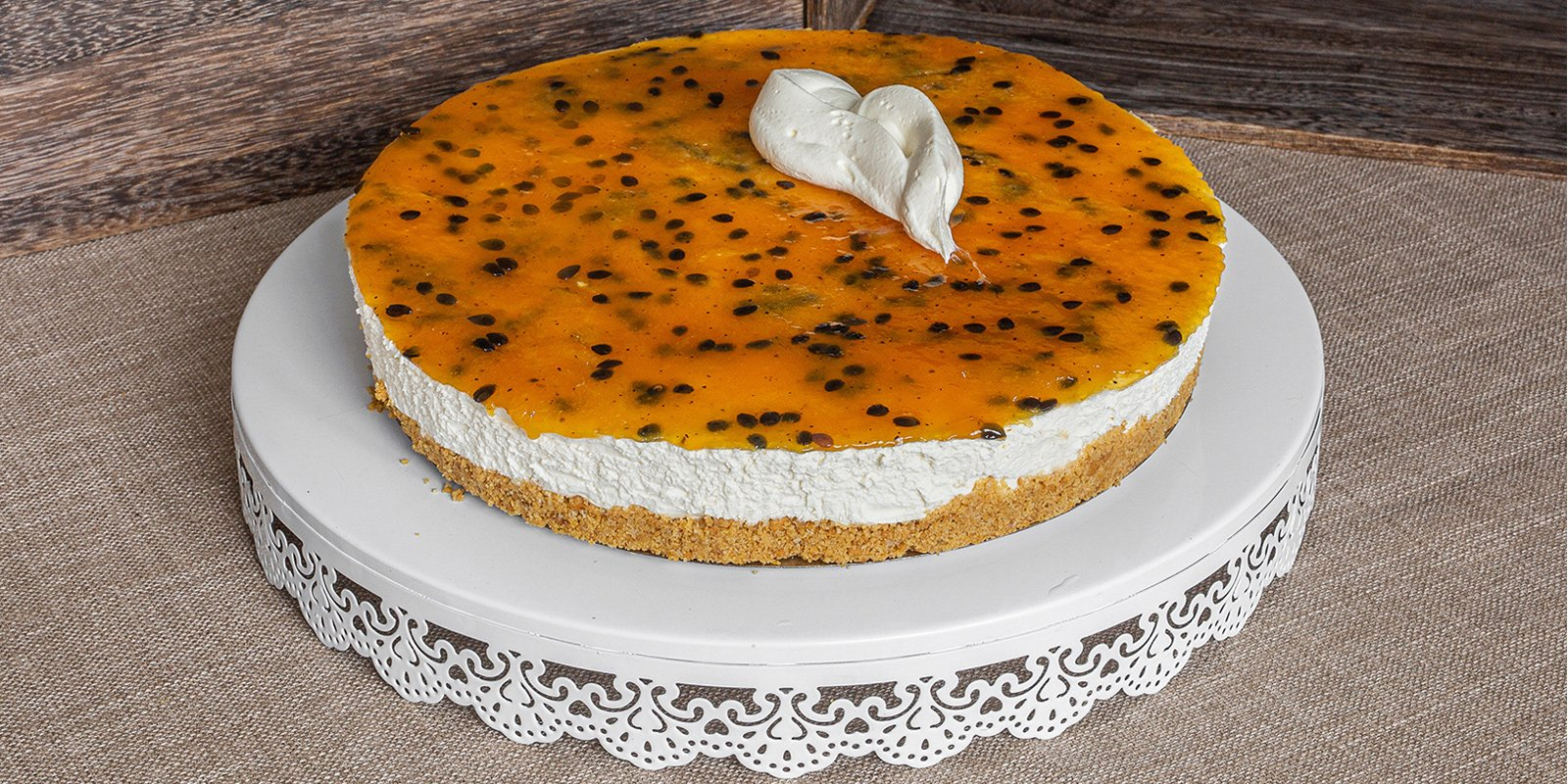 A large Cheesecake