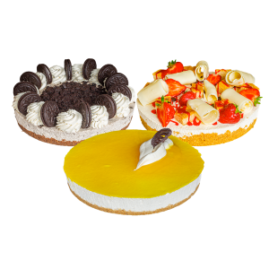 Eggless Continental Cheesecakes